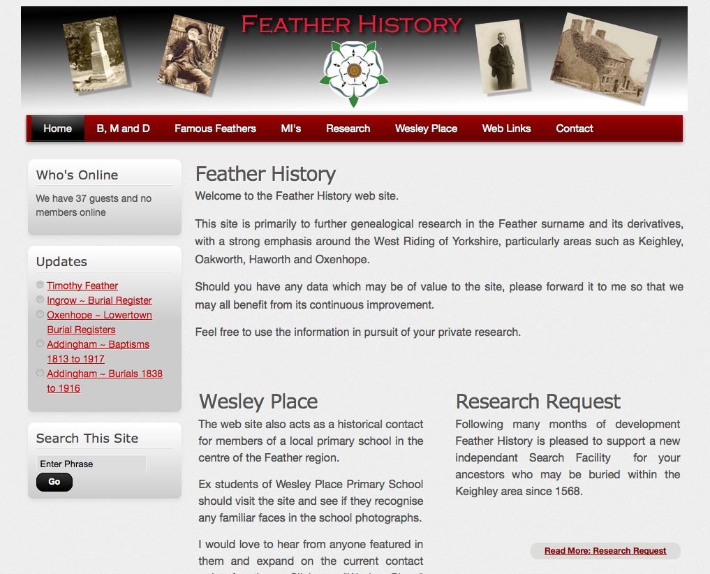 Feather History