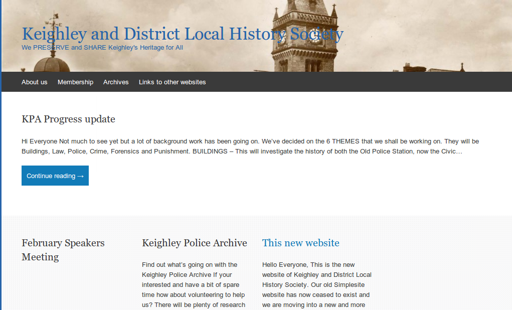 Keighley and District Local History Society